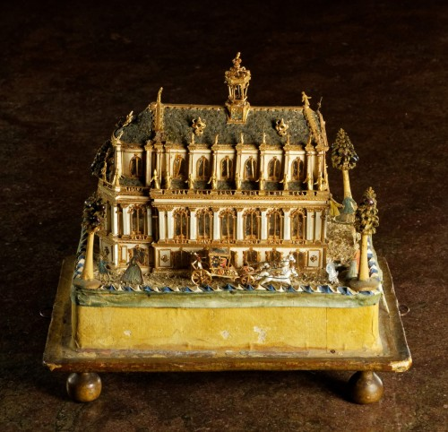 18th century - Model of the Royal Chapel in Versailles