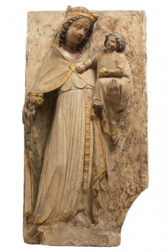 Virgin and Child - Jaume Cascalls - Catalonia, mid-14th century