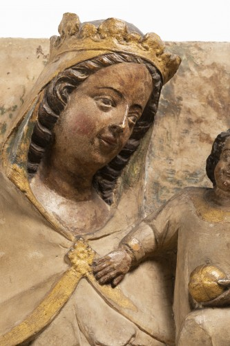 11th to 15th century - Virgin and Child - Jaume Cascalls - Catalonia, mid-14th century