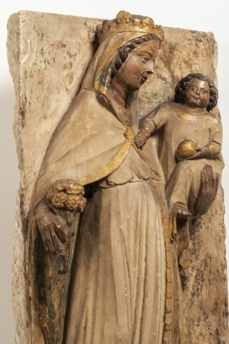 Virgin and Child - Jaume Cascalls - Catalonia, mid-14th century -