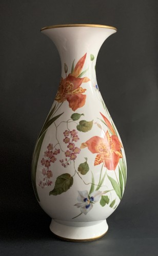 A large Sèvres porcelain vase (Vase Bertin) -
