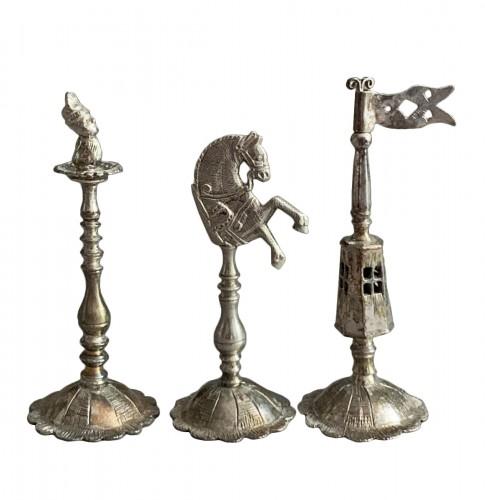 "A silver and silver-gilt ""Selenus"" chess set - Königsberg 1781"