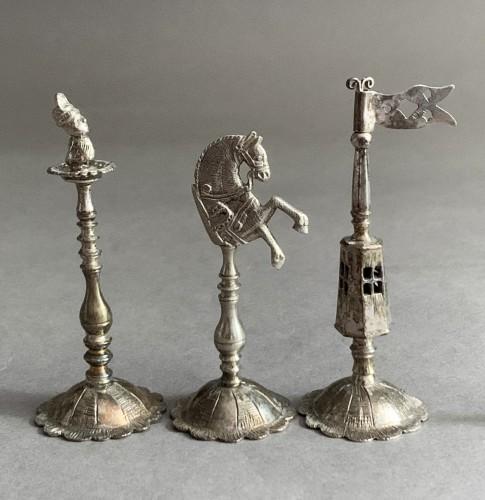 "Antique Silver  - A silver and silver-gilt ""Selenus"" chess set - Königsberg 1781"