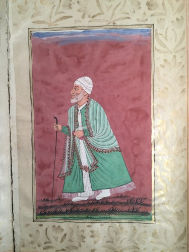 A rare album of 40 Indian miniatures -