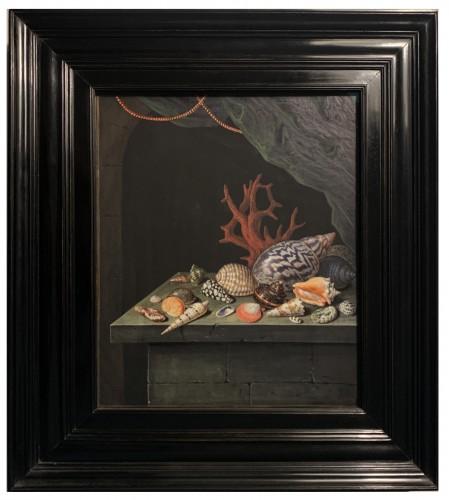 A shell and coral still-life - Elisabeth Christina Matthes (1749-1808)