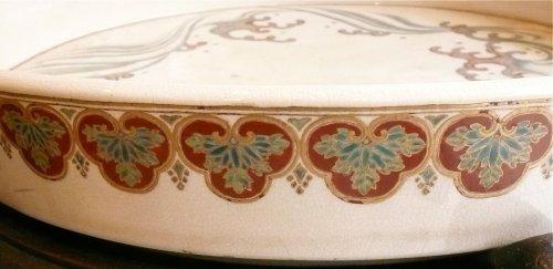 19th century - Large satsuma cup for ikebana