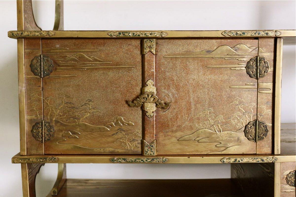 Meubles japonais anciens fabulous meuble japonais de for Meuble japonais ancien