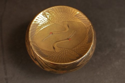 Original Natsume (Tea Box) signed : Toyo -