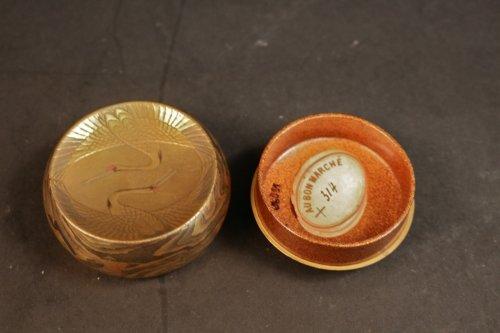 19th century - Original Natsume (Tea Box) signed : Toyo