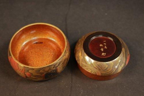 - Original Natsume (Tea Box) signed : Toyo