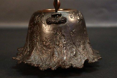 Very Nice Tetsubin (tea pot) Signed Ryubundo -