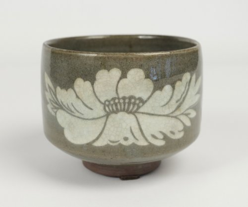 Chawan Stoneware Higo Province 18th century