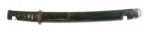Antiquités - Tanto koto Signed Ashu ju Ujihisa 16th century
