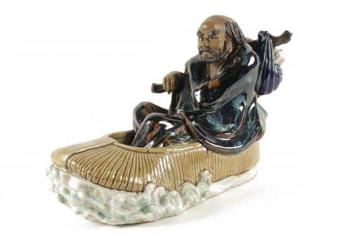 Chinese Figure Shiwan Sandstone