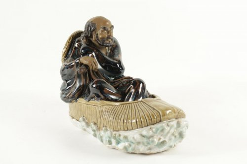 Asian Art & Antiques  - Chinese Figure Shiwan Sandstone