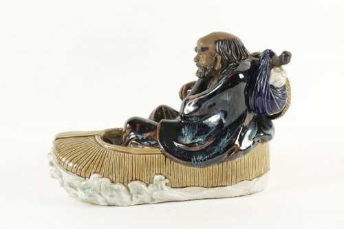 19th century - Chinese Figure Shiwan Sandstone