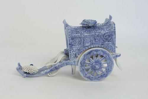 Original Porcelain Carriage - Asian Art & Antiques Style