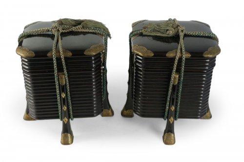 Pair of Picnic Boxes - Hokkai
