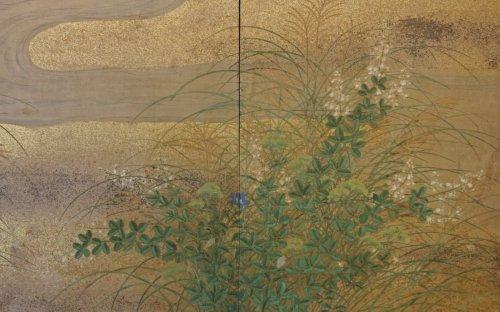 - Japanese 6-Panel Screen of Rimpa School