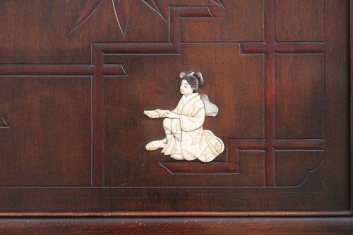 Asian Art & Antiques  - Coat rack, attribution Gabriel Viardot workshop