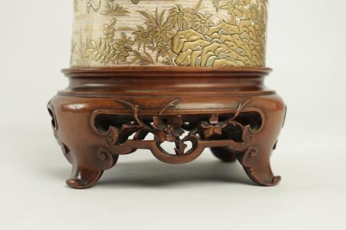 - An Ivory Tusk Vase
