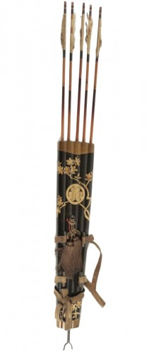 Lacquered Quiver with 5 arrows