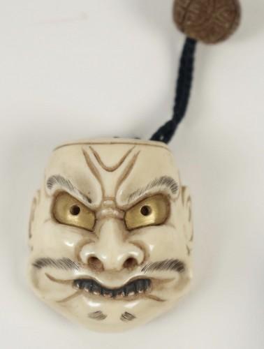 Asian Art & Antiques  - Three-case Inro
