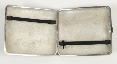 Lovely Japanese Silver Cigarette Box - Asian Art & Antiques Style