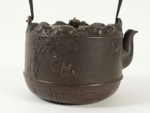Cast Iron Water Kettle - Tetsubin -