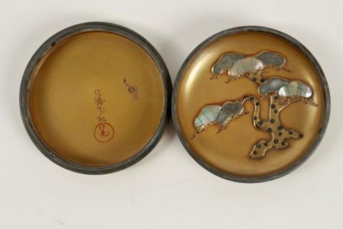 19th century - Gold Lacquer Incense Box