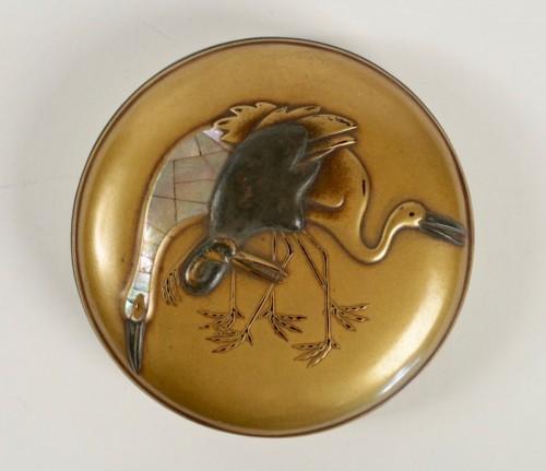 Antiquités - Gold Lacquer Incense Box