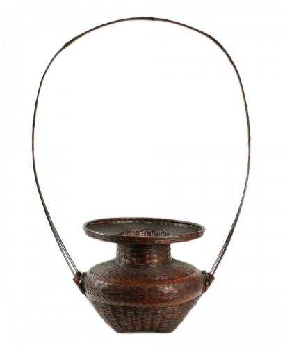 Impressive Ikebana Basket Hana-Kago