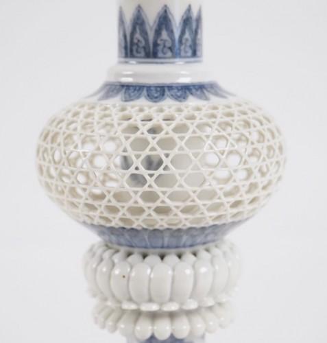 Asian Art & Antiques  - Hirado Vase Gu Shape
