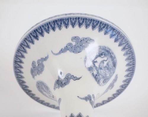 Hirado Vase Gu Shape -