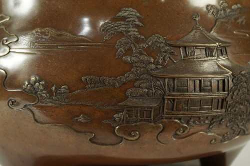 Asian Art & Antiques  - An Exceptional Kanaya Gorosaburo Brasero