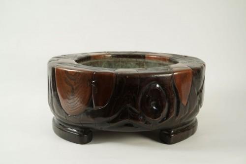 Asian Art & Antiques  - Rare and Imposing Hibachi (Brasero)