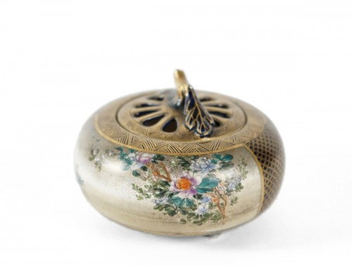 Satsuma Koro Incense Burner - Kinkozan
