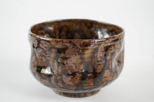 Asian Art & Antiques  - Sandstone Chawan (tea bowl)