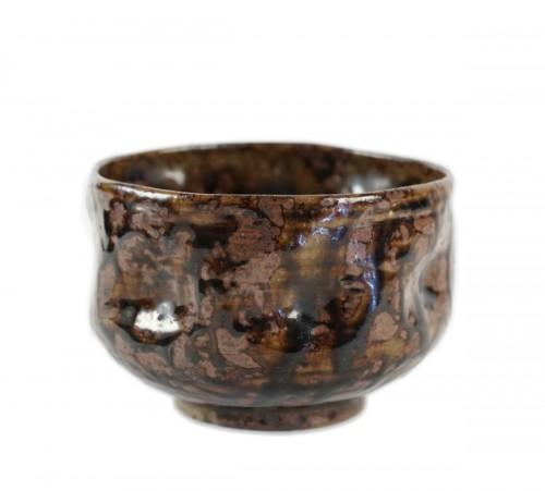 Antiquités - Sandstone Chawan (tea bowl)
