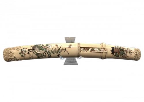 An Ivory and Shibayama style Tanto