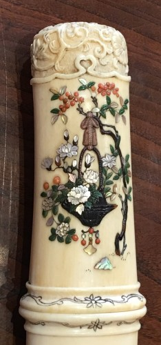 An Ivory and Shibayama style Tanto - Asian Art & Antiques Style