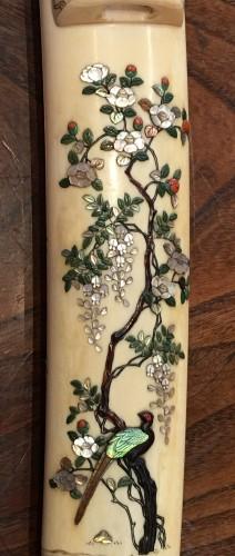 An Ivory and Shibayama style Tanto -