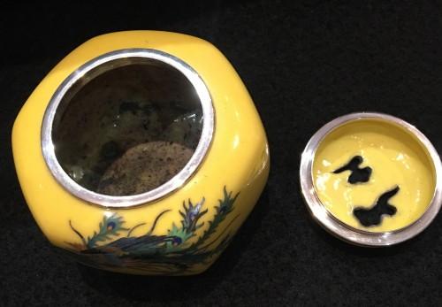 Cloisonne Incense Burner Phenix Design -