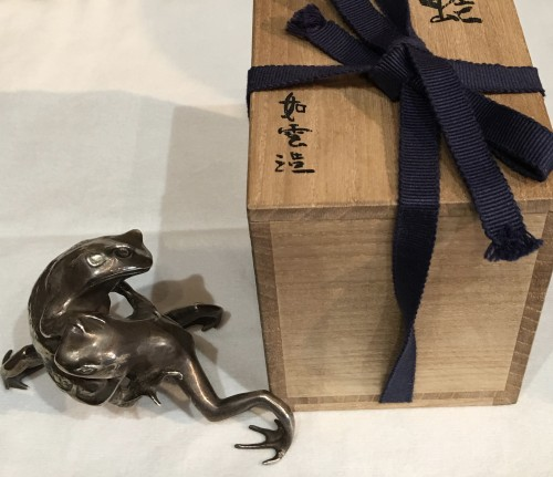 Rare Silver Frog Fight - Oshima Joun -