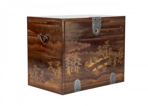 Japanes gold Lacquer Cabinet - Kodansu