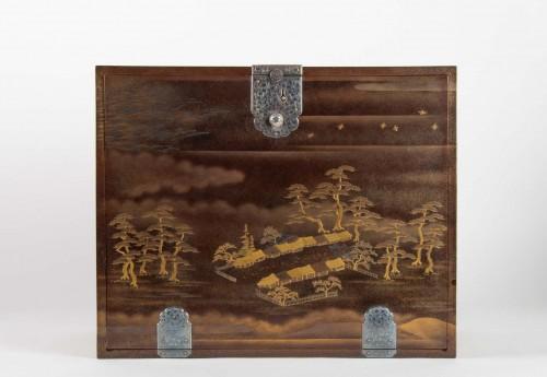 Japanes gold Lacquer Cabinet - Kodansu - Asian Art & Antiques Style