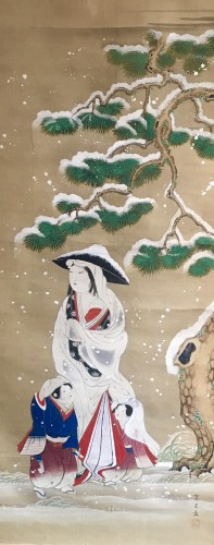 Painting by Morizumi Tsurana - Asian Art & Antiques Style