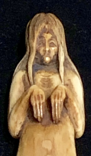 Ivory Netsuke of a Ghost - Asian Art & Antiques Style