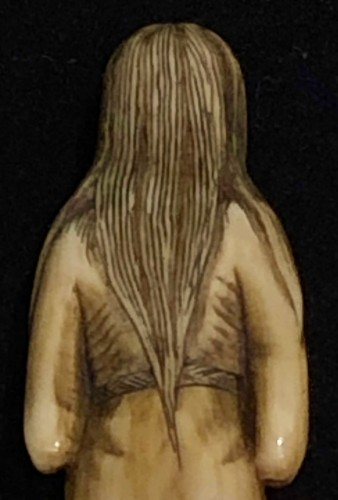 Ivory Netsuke of a Ghost -