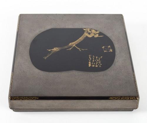 Suzuri bako (écritoire) par Moriya Shotei (1890-1972) - Asian Art & Antiques Style Art Déco